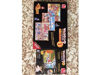 Jigsaws - 3 x Wasgij 1000 piece Collectors Box plus 1 x 500 - Immaculate