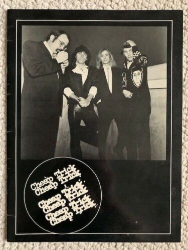 CHEAP TRICK 1980 DREAM POLICE TOUR PROGRAM      GREAT CONDITION     AWESOME+RARE