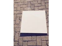 11 boxes of cream polished porcelain tiles