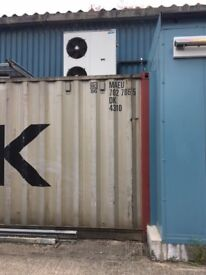 40ft Metail Container For Sale, Malton, North Yks. £1,200, Buyer to collect