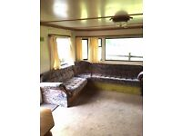1998 Willerby Leven, 35x12, 2 bed Static Caravan for Sale with central heating and double glazing