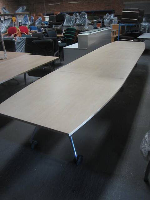 Vitra Large Fold Away Meeting Table Conference Table In Salford - Fold away conference table