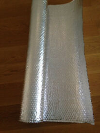 YBS Quilted Aluminium Bubble Foil Insulation Membrane 6m x 1.2m