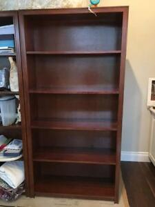 2 Custom made book shelf