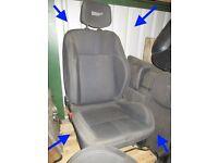 Clio 197 Recaro sport cloth seats GENUINE airbag interior RS 200 8k miles 200