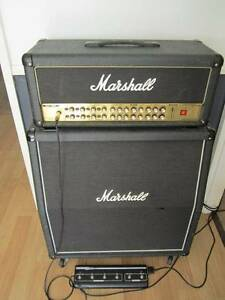 Marshall 150 watt amp quad box  AVT 150H with footswitch swap Plumpton Blacktown Area Preview
