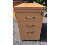 cupboard draws filling cabinet x 2