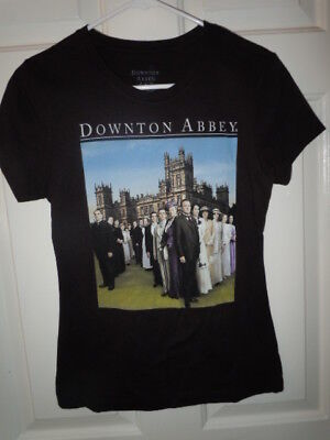 Downton Abbey T-Shirt  Size Small or Medium Slim Licensed Product
