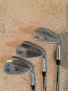 Set of Callaway X Tour Wedges, 50, 56, 60 - $180 for set, OBO