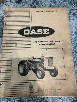 Case 530 Construction King Wheel Tractor Parts Catalog Manual Book 910 Sku-b