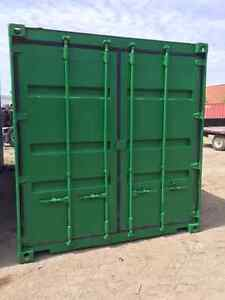 20' Used Shipping Container - Rust Removed and New Paint
