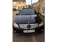 "Mercedes C220 Diesel FULL AMG BODYSTYLING, PANORAMIC SUNROOF, 18"" AMG ALLOY WHEELS"