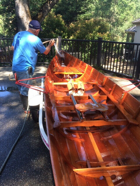 Rowing Boats/Skiffs Wood made in Argentina and in England
