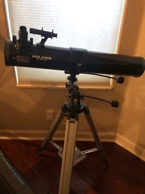 Polaris by meade telescope model 114EQ, used for sale  Boynton Beach