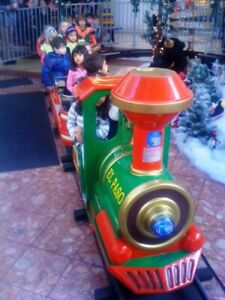 Wild West Kids Train ride Attraction