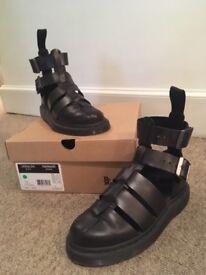 Dr. Martens Geraldo Sandal Black Brando Leather RRP £125 - selling for £100