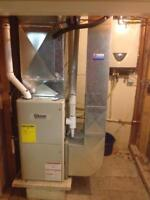 95.1%HI EFF. FURNACE AND 14.5 SEER A/C  $4,899.00 INSTALLED