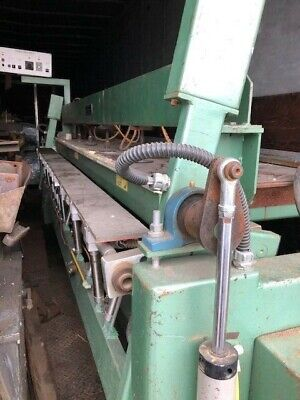 Used Woodworking Evans Machinery - 10 Post Form Bending Machine