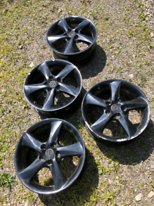 Set of 17 inch rims $80 firm