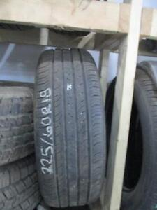 WE ONLY HAVE 1 225/60R18 CONTINENTAL USED TIRE