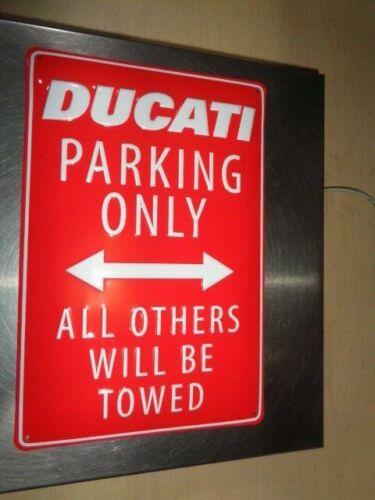 Ducati Parking Metal Sign # 987700618