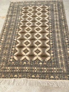 Persian Rug-Turkoman, in pure wool and hand woven, exel cond.