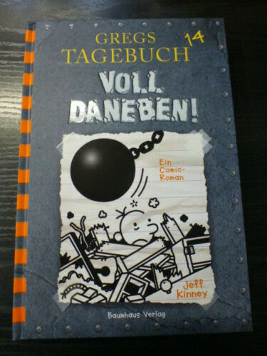 +++ Jeff Kinney : Gregs Tagebuch - Voll daneben! ; 14 - 2019 +++