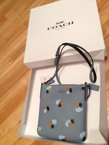 Coach Purse - Cornflower Print