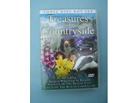 DVD Box Set - 3 Discs - Treasures of the British Countryside - Jewels of/Flowers/Badger Watching