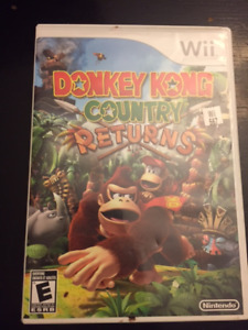 Jeux Nintendo Wii DONKEY KONG COUNTRY RETURNS 35$