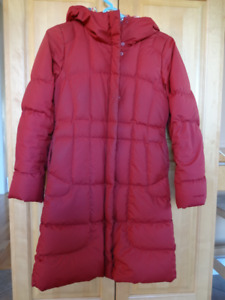 Patagonia down filled coat size large