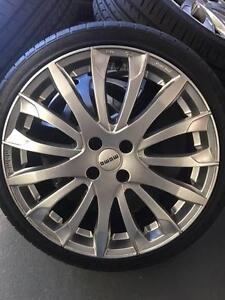 "18"" MOMO Rims with Tyres EX-DEMO STOCK Glendenning Blacktown Area Preview"
