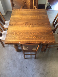 Antique Dinning Room Table and a Hutch