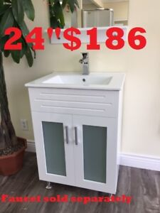 Modern BATHROOM VANITY . SHOWER PANEL. SHOWER DOOR.