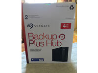 Brand new sealed and fully boxed 4TB Backup Plus for Mac or Windows.