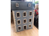 4 Storey Dolls House With Furniture
