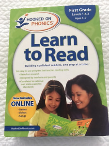 Hooked On Phonics - First Grade (Levels 1 & 2)