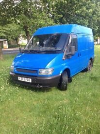 FORD TRANSIT ONE YEAR MOT 1000£!!!
