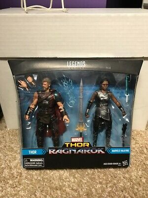 Marvel Legends Thor Ragnarok Thor Valkyrie 2 Pack