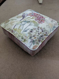 Voyage and Moon Fabric Hedgerow Footstool
