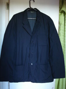 Eddie Bauer XL Black Down Dress Jacket