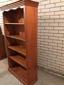 Solid Timber bookcase Caringbah Sutherland Area Preview