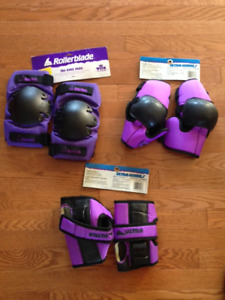 Protective Sports pads: Elbow, wrist and knee. Like NEW.