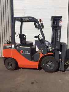 new and used forklift