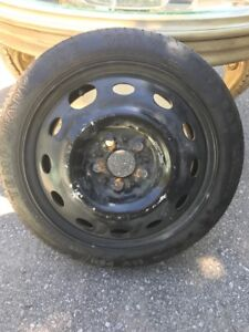 """14"""" Spare Tire from a 2000 Dodge Neon"""