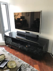 BDI Marina Media Cabinet and Mount - Mint Condition