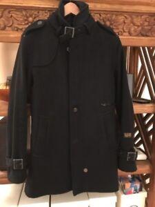 Manteau d'hiver en laine  pour homme