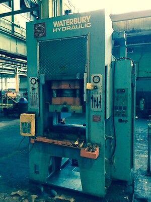110 Ton Waterbury-farrel Mdl110s Hydraulic Press 107540