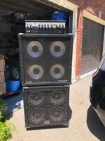 Gallien-Krueger 800RB Bass Stack