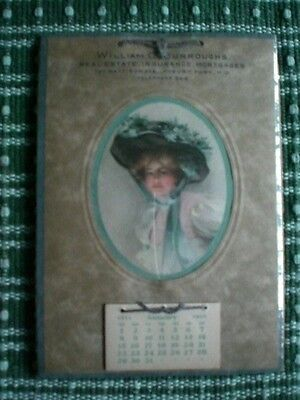 1911 Victorian Calendar, William C. Burroughs of Asbury Park, NJ on Rummage